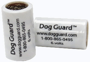 Dog Guard collar batteries